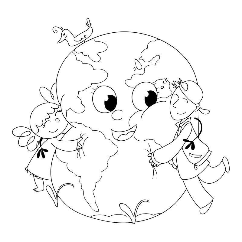 очень раскраска на тему мы за мир на планете фактором