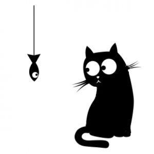 шаблон кошки для вырезания трафарет распечатать