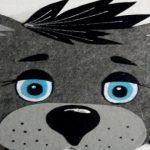 Шаблоны и трафарет волка для вырезания распечатать
