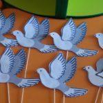 Шаблоны и трафарет птицы для вырезания из бумаги