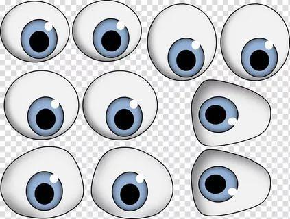 шаблон глаз трафарет распечатать