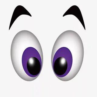 шаблоны и трафарет глаз для вырезания