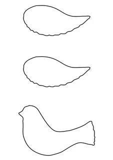 трафарет голубя для вырезания из бумаги шаблоны трафарет распечатать