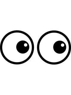 глаза рисунок шаблон трафарет распечатать