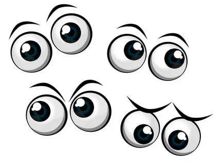 глаза шаблоны распечатать трафарет