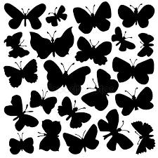 бабочки шаблоны для распечатки