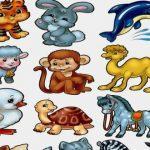 шаблоны и трафареты животных для вырезания