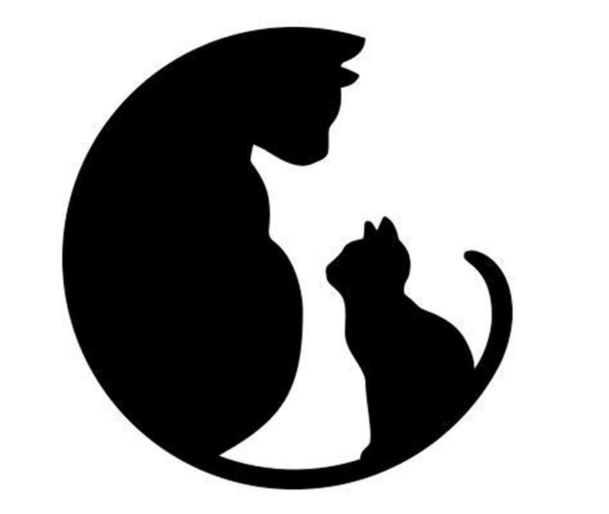 шаблон кошки из фетра трафарет распечатать