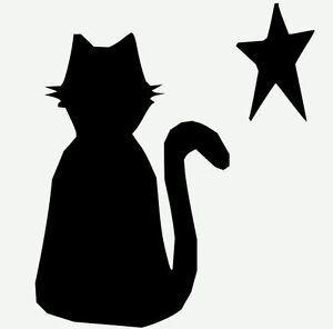шаблон кошки для вырезания распечатать трафарет