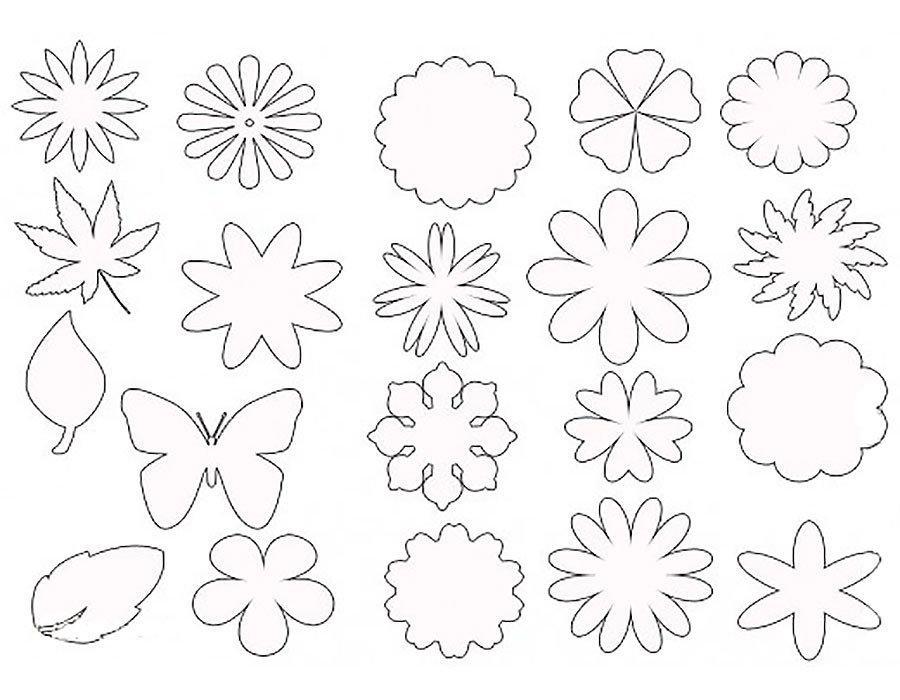 аппликация из бумаги для детей шаблоны распечатать трафарет
