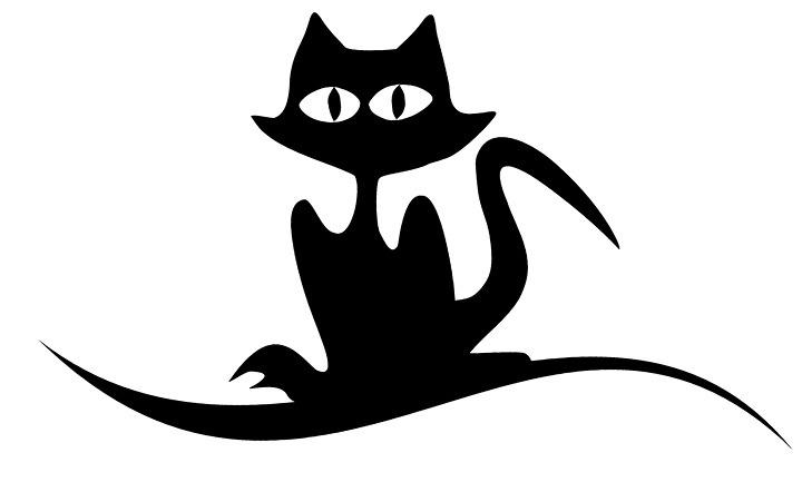голова кошки шаблон трафарет распечатать