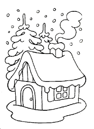раскраска зима для детей 3-4 лет распечатать бесплатно