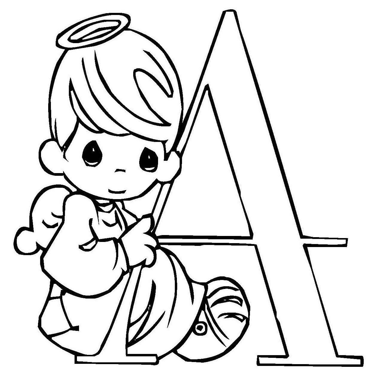 раскраска буква а для детей распечатать бесплатно