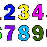 раскраска учим цифры распечатать бесплатно