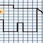 Графический диктант по клеточкам для дошкольников 4-5 лет