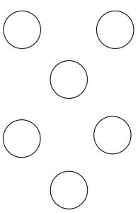 раскраска круг для детей распечатать бесплатно