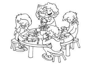 раскраска режим дня школьника в картинках распечатать