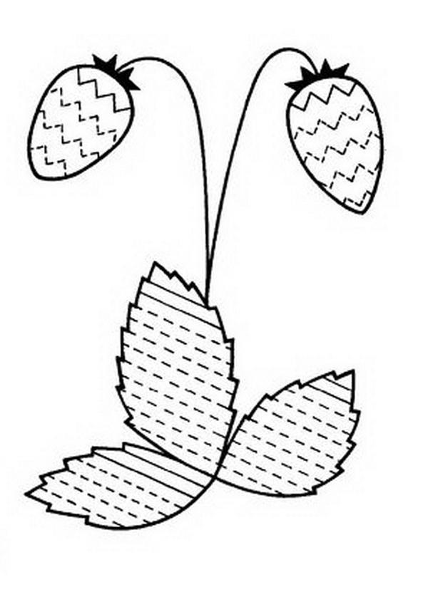 раскраска штриховка для детей 5 6 лет распечатать