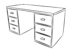 раскраска мебель для детей распечатать бесплатно