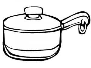раскраска посуда для детей распечатать бесплатно