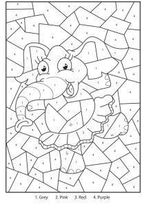 Раскраски Цвета на английском языке для детей