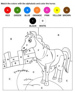 раскраска цвета на английском языке для детей распечатать бесплатно