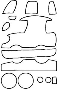 раскраски для аппликаций из пластилина
