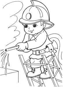 раскраски профессии для дошкольников распечатать бесплатно
