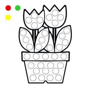 раскраска шаблоны для пальчикового рисования распечатать бесплатно