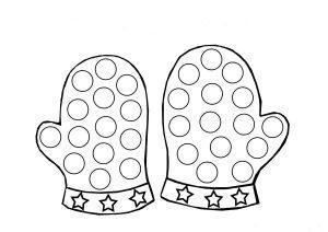 Раскраски шаблоны для пальчикового рисования