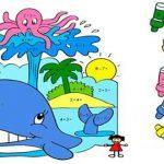 Раскраски с примерами на сложение распечатать бесплатно