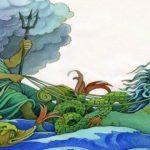 Раскраска Мифы древней Греции распечатать бесплатно