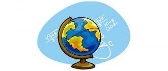 Раскраска Глобус для детей распечатать бесплатно