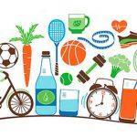 Раскраска Здоровый образ жизни распечатать бесплатно