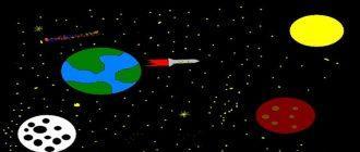 Раскраска Космос распечатать бесплатно скачать
