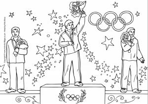 раскраска олимпийские игры распечатать бесплатно