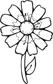 раскраски цветы красивые крупные распечатать