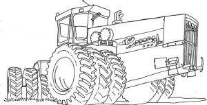 Трактор Кировец К-700 раскраска