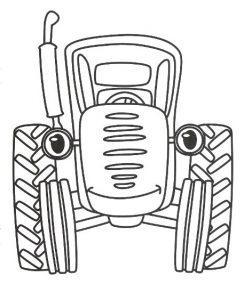 Трактор Гоша раскраска